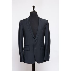 2-Piece Navy Pinstriped Suit (Item No. 64)
